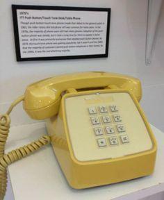 1970's ITT Push Button phone.
