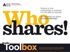 I share! Why sharing is good for you?