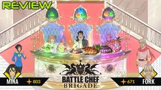 Battle Chef Brigade Review - Prepared With Love - https://techraptor.net/content/battle-chef-brigade-review | Action, Adult Swim Games, Battle Chef Brigade, Cooking, puzzle, Review, rpg, Trinket Studios