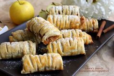 Sushi, Food And Drink, Cheese, Strudel, Ethnic Recipes, Sushi Rolls