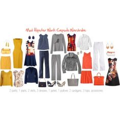 Mod Work Capsule Wardrobe