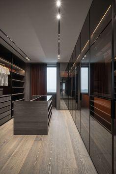 Walk In Closet Design, Bedroom Closet Design, Home Room Design, Closet Designs, Home Interior Design, Modern Closet, Dressing Room Design, Luxury Closet, Luxurious Bedrooms