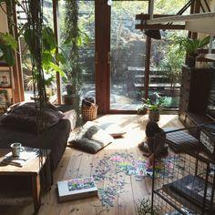 yururi-8239223さんの、こどもと暮らす。,LATTJO,IKEA,いなざうるす屋さんニコアンド,niko and… ,いなざうるす屋さん,NO GREEN NO LIFE,ジグソーパズル,Lounge,のお部屋写真