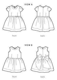 fairy tale dress sewing pattern | oliver + s