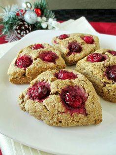 Vegan Gingerbread Rye Scones