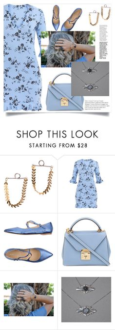 """OwnStudioBy Efrat!"" by samra-bv ❤ liked on Polyvore featuring Julie Dee and Mark Cross"