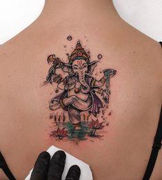 80 Artistic Tattoos by Robson Carvalho from Sao Paulo - TheTatt Ganesh Tattoo, 4 Tattoo, Mandala Tattoo, Lotus Tattoo, Samoan Tattoo, Polynesian Tattoos, Buddhist Symbol Tattoos, Hindu Tattoos, Music Tattoos