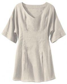 linen tunic top