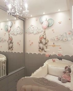 Easy Ways to Design and Decorate a Kids' Room Best Baby Room Decor Ideas Baby Bedroom, Baby Boy Rooms, Baby Room Decor, Nursery Room, Girl Nursery, Girl Room, Girls Bedroom, Bedroom Decor, Nursery Themes