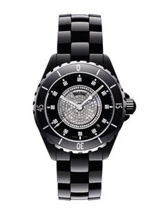 I've been in love with the Chanel J12 watch for years...