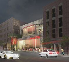 Myefski Architects   Dierks Bentley's Whisky Row, Hospitality, Exterior Rendering, Chicago, IL.  #myefski, #architecture, #dierksbentley, #whiskeyrow