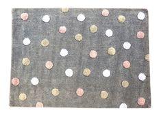 Awesome Waschbarer Teppich f r das Kinderzimmer aus reiner Baumwolle Traumhafter Kinderzimmerteppich der spanischen Firma Lorena Canals aus