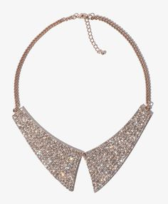 Rhinestoned Collar Necklace #partyperfect