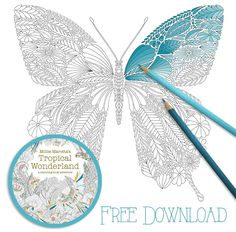 Free Millie Marotta Colouring In Download