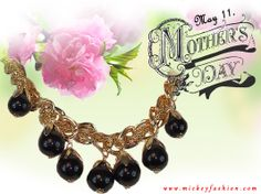 May 11. Mother's Day. Don't forget, pick something magical for your Mom! Mother's Day SALE, all jewelry under $10. http://www.mickeyfashion.com/en/products/jewelry