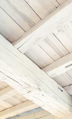 Дощатый Потолок, Деревянные Потолки, Потолочные Балки, Белый Потолок, Веранда Навес, Ремонт, Белая Древесина