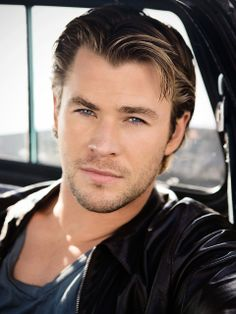 Chris Hemsworth. No explanation needed lol. When I looked into his eyes it was like the first time I heard the Beatles lol!!