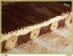 Nejprve upečeme roládky (plech 38x34cm): Bílky vyšleháme se špetkou soli a cukrem do tuhého směhu, všleháme žloutky a vmícháme mouku. Na plech s...