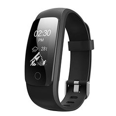Fitness Tracker HR,Teslasz T107Plus Bluetooth 4.0 Pedometer with Heart Rate Monitor Auto Sleep Monitor Activity Tracker for Android IOS Smart Phone,Black - http://physicalfitnessshop.com/shop/fitness-tracker-hrteslasz-t107plus-bluetooth-4-0-pedometer-with-heart-rate-monitor-auto-sleep-monitor-activity-tracker-for-android-ios-smart-phoneblack/ http://physicalfitnessshop.com/wp-content/uploads/2018/02/25d6d4988860.jpg