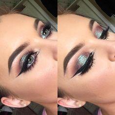 "783372b77c1 Jazz Ayling on Instagram: ""Obsessed with this inglot 85 pigment 💜🍬🐬🐠 nyc  liquid liner, @makeupgeekcosmetics eyeshadows & @anastasiabeverlyhills  dipbrow ..."
