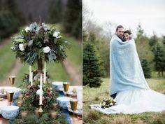 winter wedding ideas - photo by Isa Images - http://ruffledblog.com/rhode-island-winter-wedding-ideas