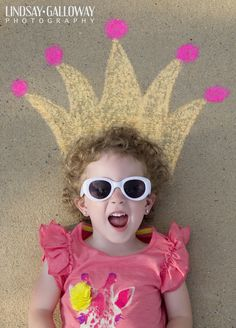 Chalk Fun! | Lindsay Galloway Photography Blog #sidewalkchalk