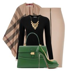 Outfit by mkomorowski on Polyvore featuring polyvore, fashion, style, Pure Collection, Burberry, River Island, Dressage Collection and Charlotte Russe