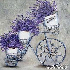 Диалоги Lavender Crafts, Foto Transfer, Flower Cart, Easy Watercolor, Decoupage Paper, Botanical Prints, Vintage Photography, Vintage Flowers, Vintage Posters