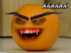 The Evil Annoying Orange
