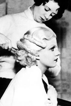"""vintagegal: """" Jean Harlow c. 1930s """""""
