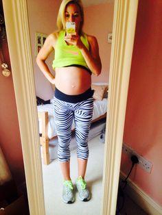 Baby Bump 34 Weeks - 10st 9lb
