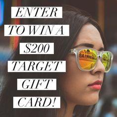 Lauryncakes | Utah Fashion & Beauty Blog: Win a $200 Target Gift Card!