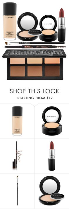 """Makeup haul"" by lesleybvb ❤ liked on Polyvore featuring beauty, MAC Cosmetics, Anastasia Beverly Hills and Kat Von D"