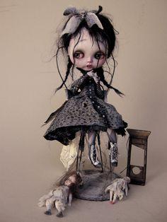 Créateur de poupées, ours, miniatures 1/12° Pièces Uniques http://www.ozzdollsfactory.com intermundisbox@hotmail.fr