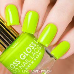 Floss Gloss Con Limon Nail Polish