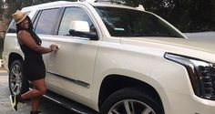 Kevin Hart bought his ex-wife an Escalade for her birthday! Talk about friendly exes.