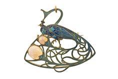 Broche pendentif Paon | René Lalique