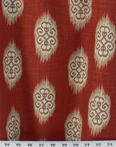 Kosi Clay | Online Discount Drapery Fabrics and Upholstery Fabric Superstore!
