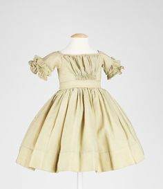 1845-1850 Girls Dress
