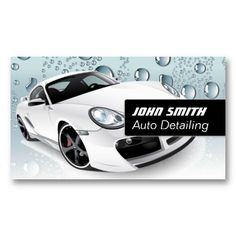 30 Best Auto Detailing Business Cards Images In 2013 Auto