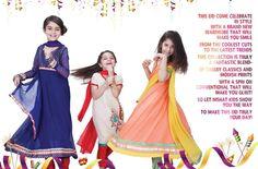 Nishat Linen Latest Kids Eid Collection 2014 2015