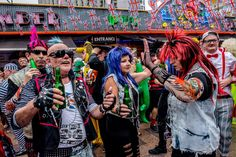 Revellers enjoy British Fancy Dress Day, one of the biggest fancy dress parties in Europe, which is held the day after the Benidorm fiesta in November