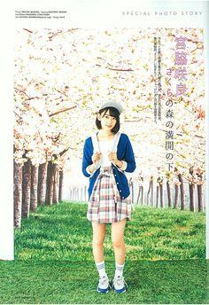 #宮脇咲良 #magazine #streetJack