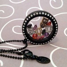 Halloween themed locket from Origami Owl!
