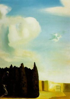 The Isle of the Dead - Centre, Section - Dali Salvador L'art Salvador Dali, Dali Quotes, Dream Pictures, Magritte, Art Database, Caravaggio, Cubism, Les Oeuvres, Opera