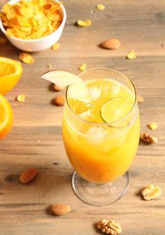 Apple Orange Juice Recipe #juicetohealth  #juicetohealth