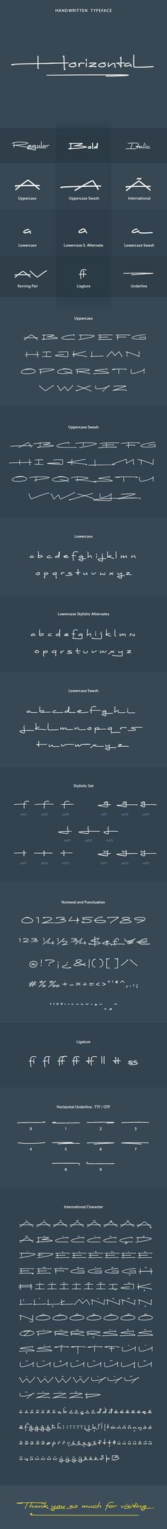 Horizontal Font Horizontal' is a nice handwritten Typeface. It gives a complete authentic feel on your text. Total 395 glyphs available including al… – Fitness Logo Inspiration, Typographie Inspiration, Police Logo, Typographie Fonts, Schrift Design, Handwritten Logo, Font Logo, Font Design, Web Design