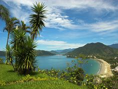Ubatuba, São Paulo - Brasil. Incredibly blessed for the time I had here...a solo trip to this magnificent beach.