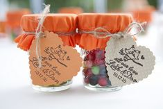 DIY candy favors #favors #gifts #candy