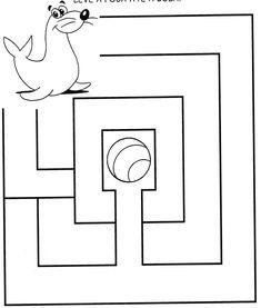 Free Printable animal Mazes for kids Activities For 5 Year Olds, Preschool Learning Activities, Infant Activities, Kindergarten Math Worksheets, Logic Games For Kids, Fun Worksheets For Kids, Mazes For Kids, Maze Drawing, Maze Worksheet